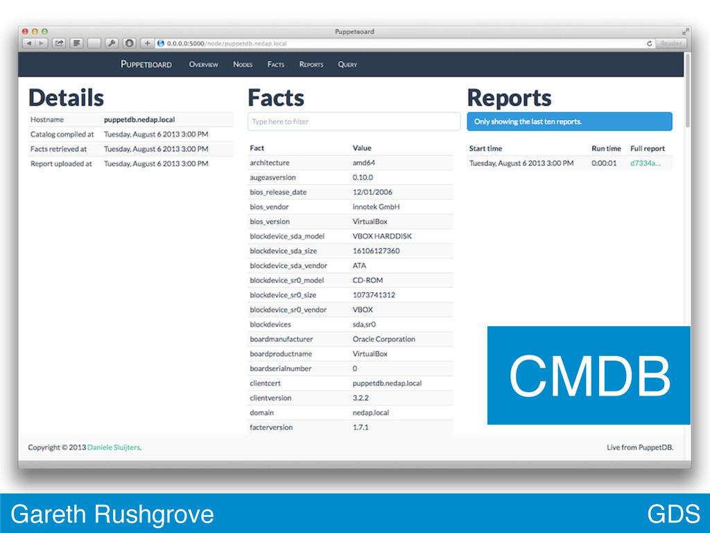 GDS Gareth Rushgrove CMDB