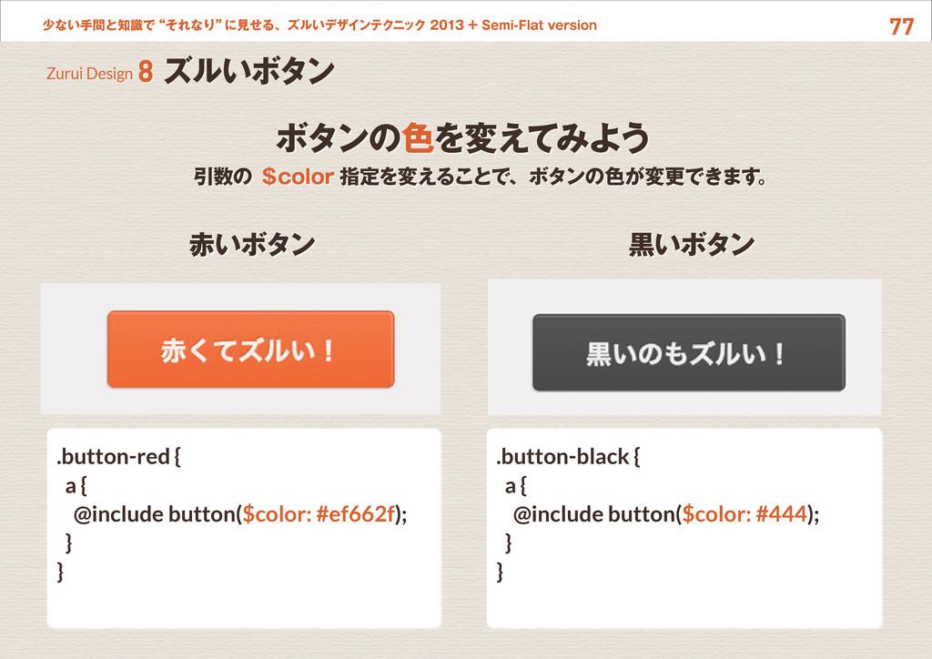 """77 少ない手間と知識で""""それなり"""" に見せる、ズルいデザインテクニック 2013 + Sem..."""