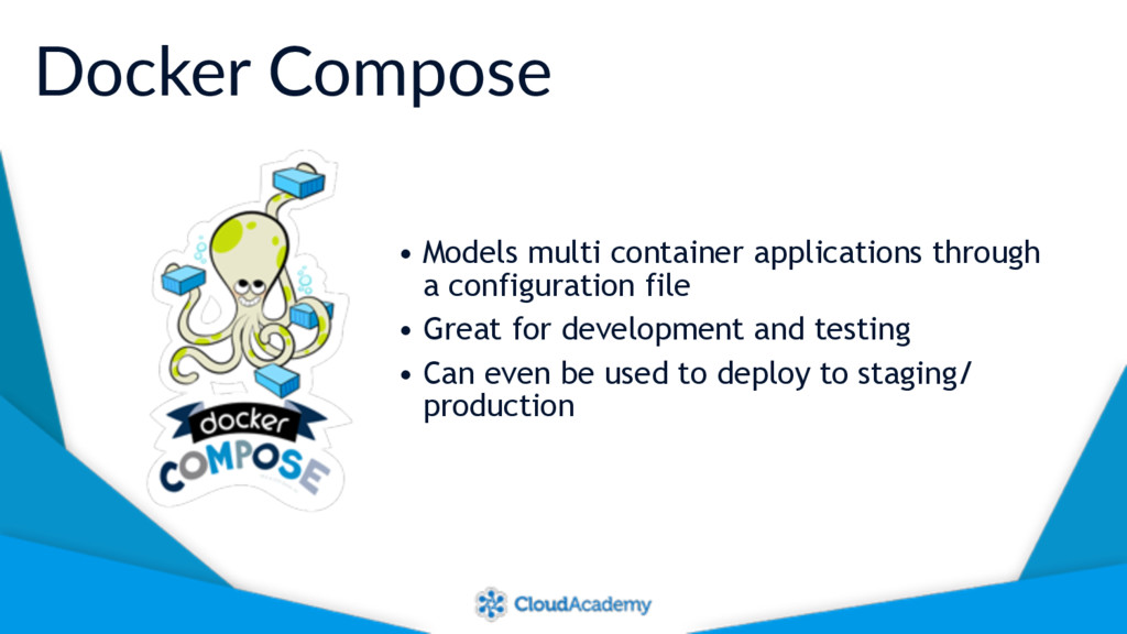 Docker Compose • Models multi container applica...