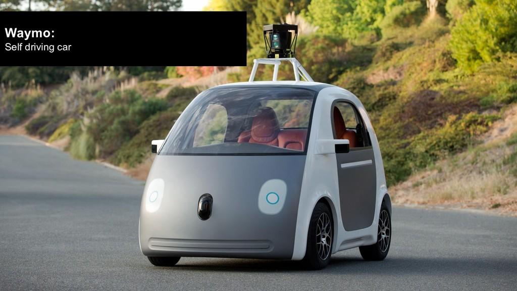 Waymo: Self driving car