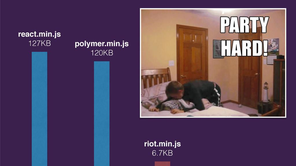 react.min.js 127KB polymer.min.js 120KB riot.mi...