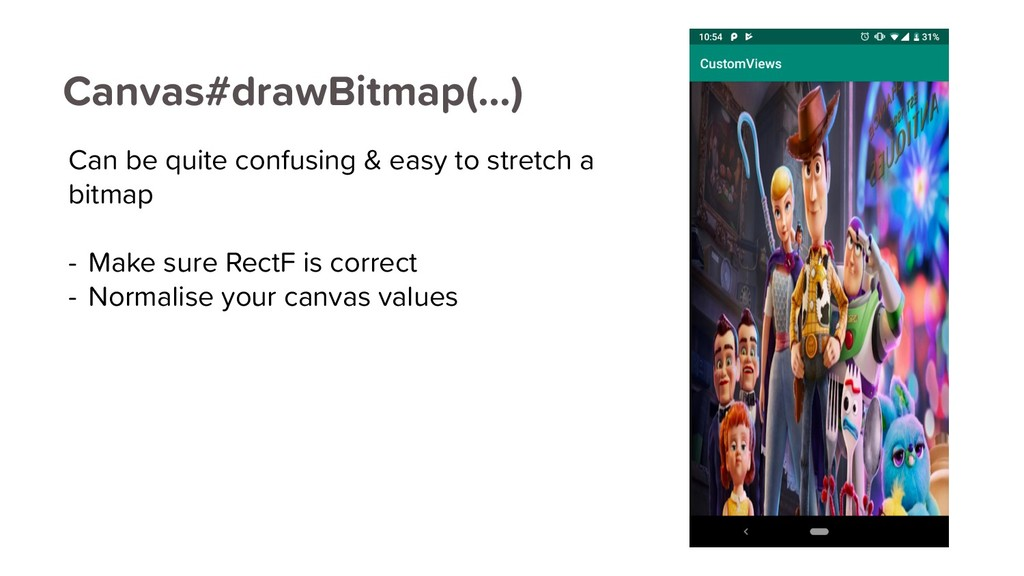 Canvas#drawBitmap(…) Can be quite confusing & e...