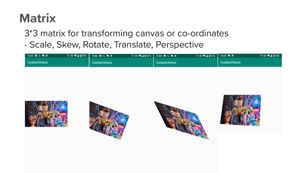 Matrix 3*3 matrix for transforming canvas or co...