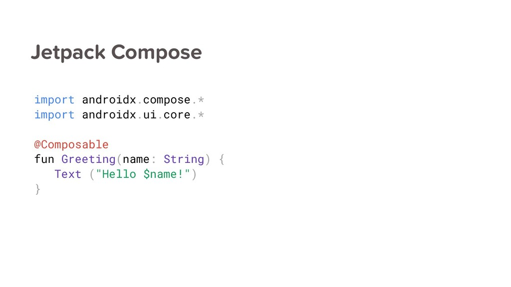 Jetpack Compose import androidx.compose.* impor...