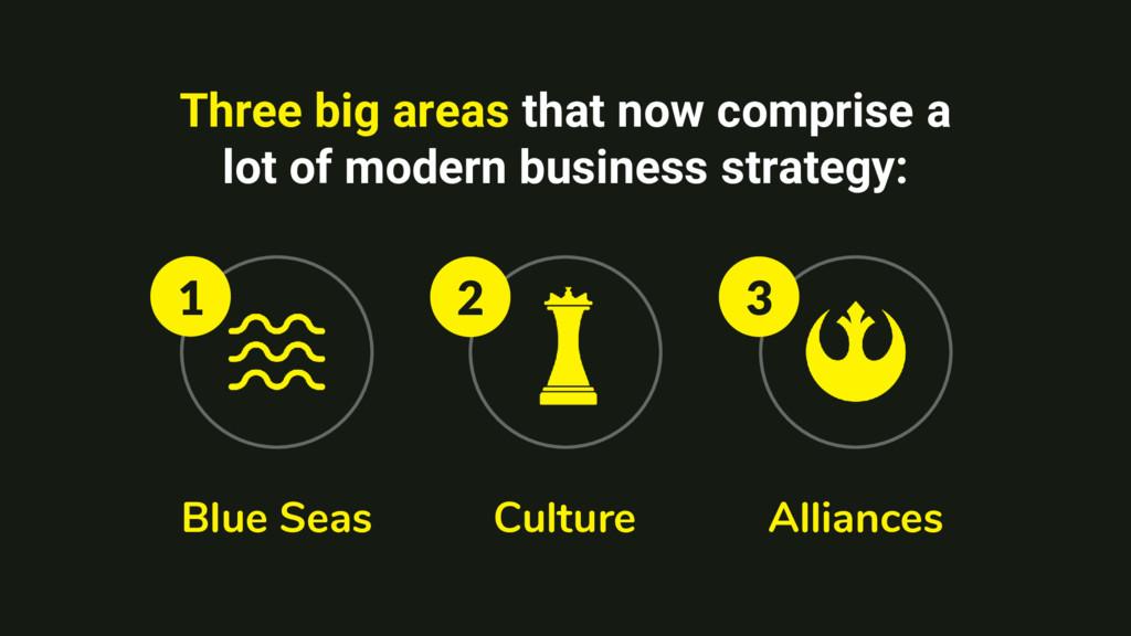 Blue Seas Culture Alliances Three big areas tha...