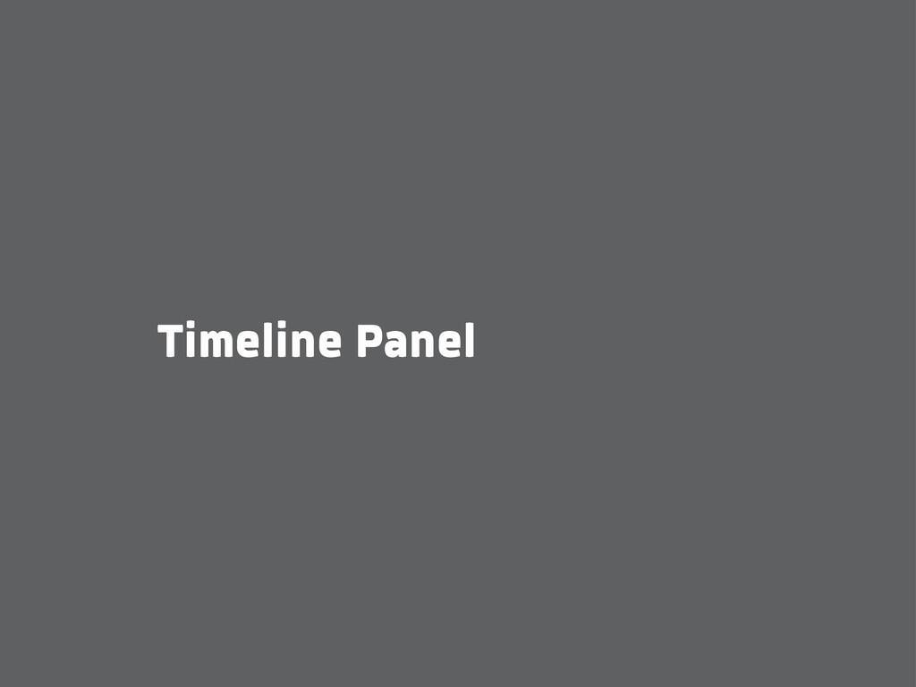 Timeline Panel