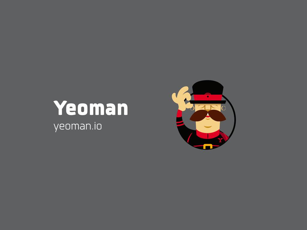Yeoman yeoman.io