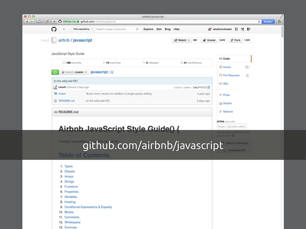 github.com/airbnb/javascript