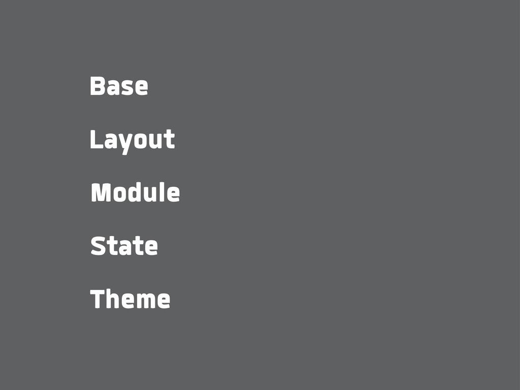 Base State Layout Module Theme