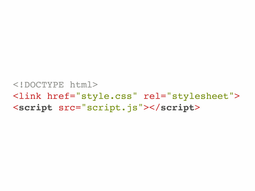 """<!DOCTYPE html> <link href=""""style.css"""" rel=""""sty..."""