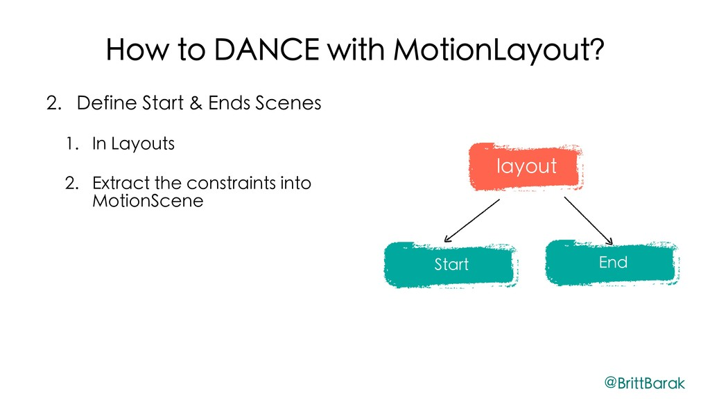 How to DANCE with MotionLayout? 2. Define Start...