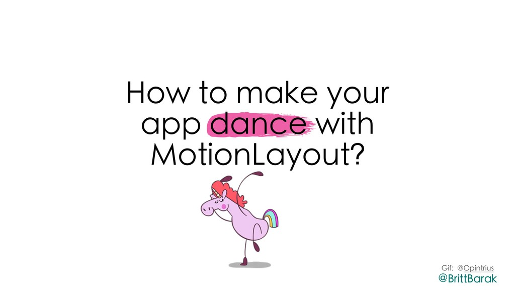 How to make your app dance with MotionLayout? G...