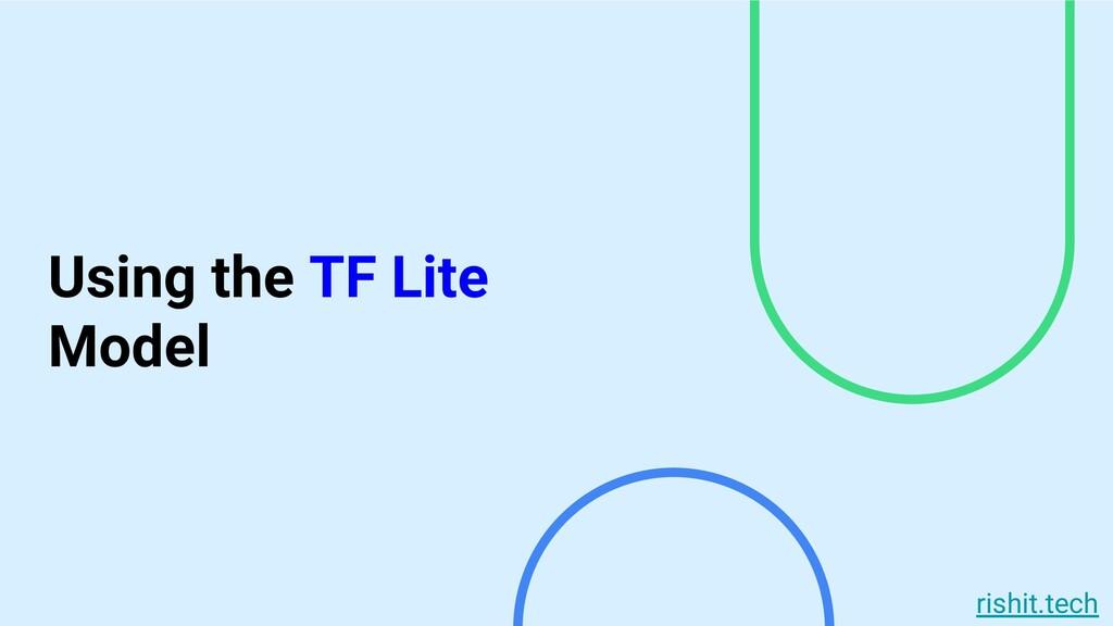 rishit.tech Using the TF Lite Model