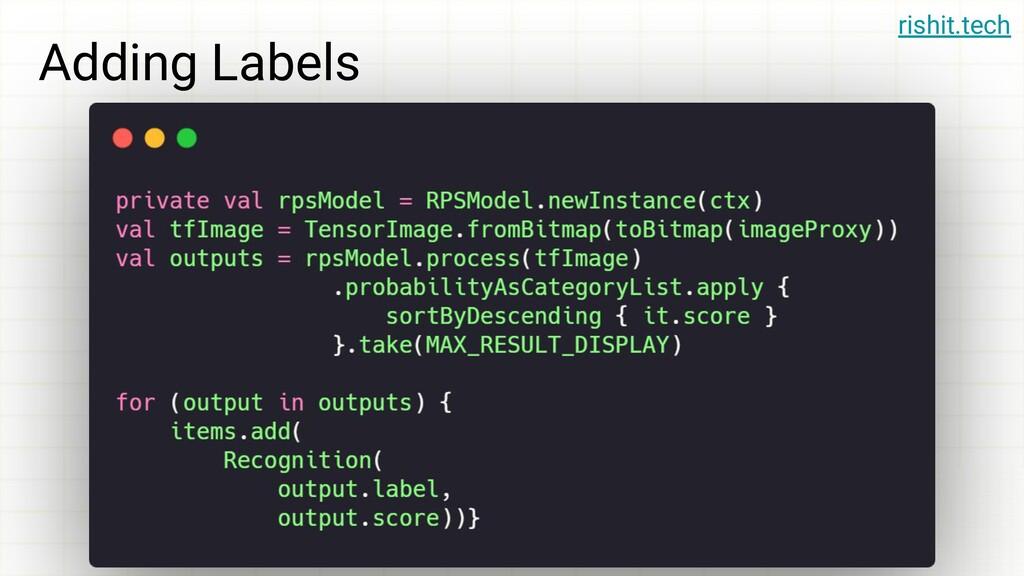rishit.tech Adding Labels rishit.tech