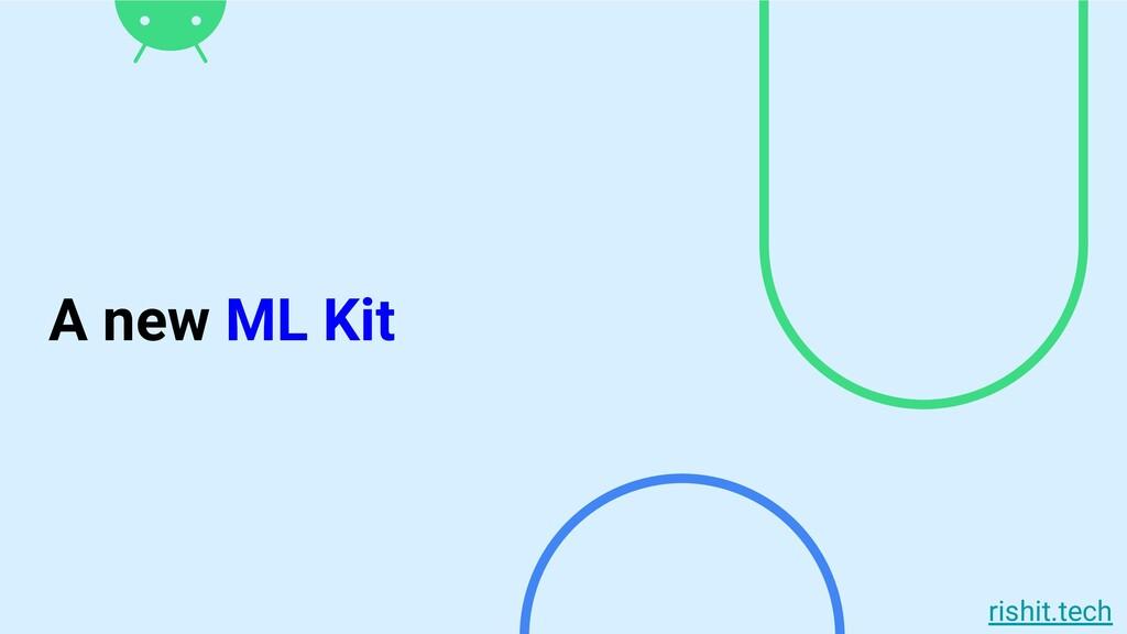 rishit.tech A new ML Kit