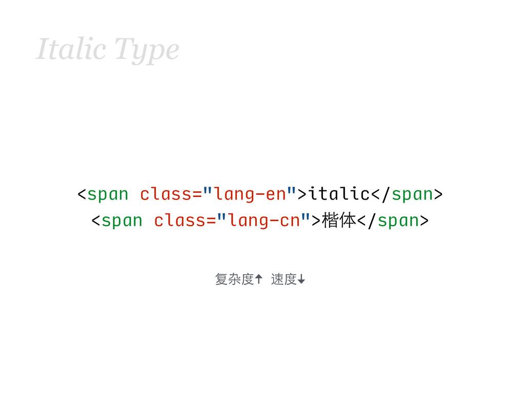 "Italic Type <span class=""lang-en"">ital..."
