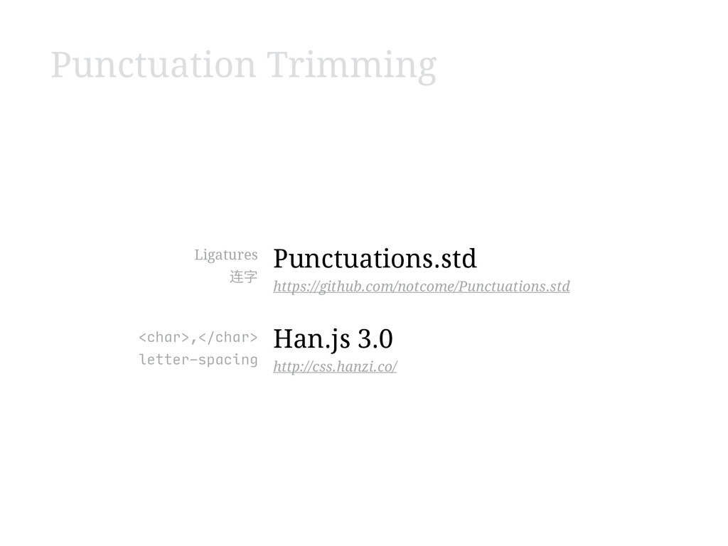Punctuation Trimming Punctuations.std https://g...
