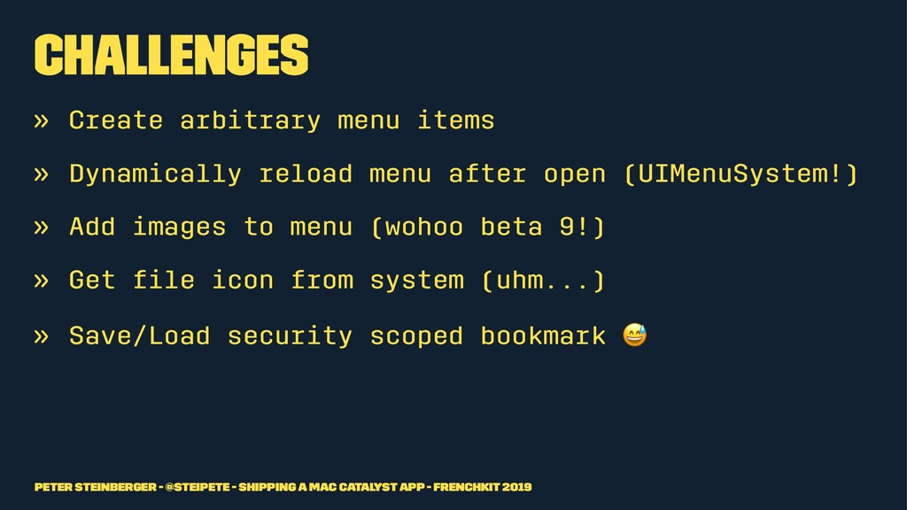 Challenges » Create arbitrary menu items » Dyna...