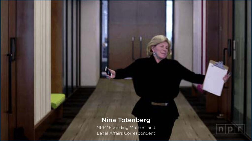 @creativenewman #Confab2020 Nina Totenberg NPR...