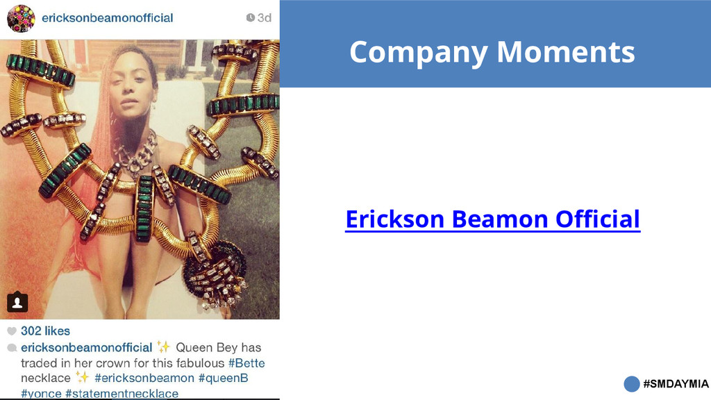 #SMDAYMIA Company Moments Erickson Beamon Offic...