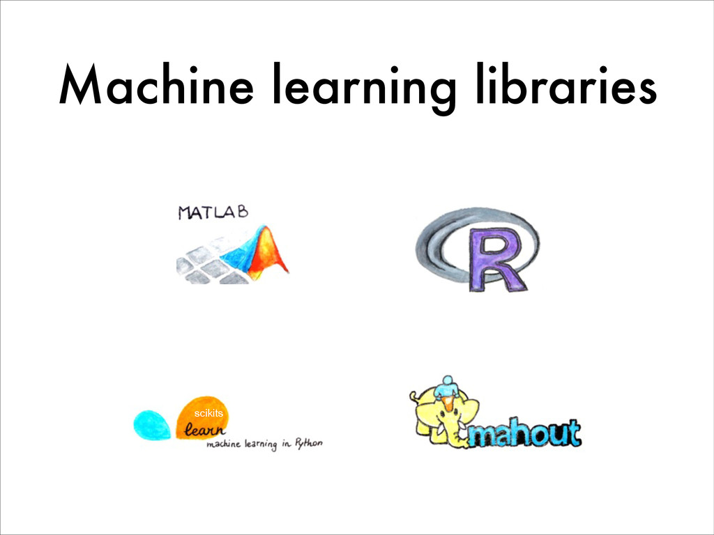 Machine learning libraries scikits