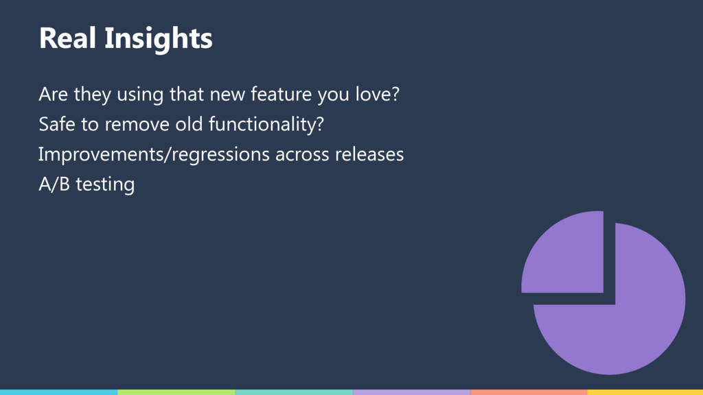 Real Insights Are they using that new feature y...