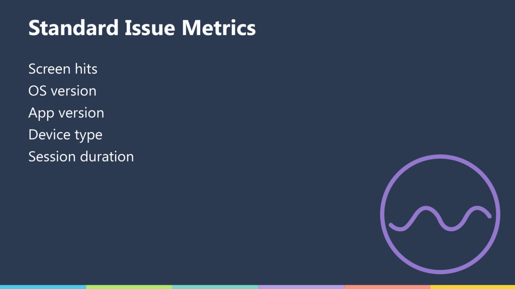 Standard Issue Metrics Screen hits OS version A...