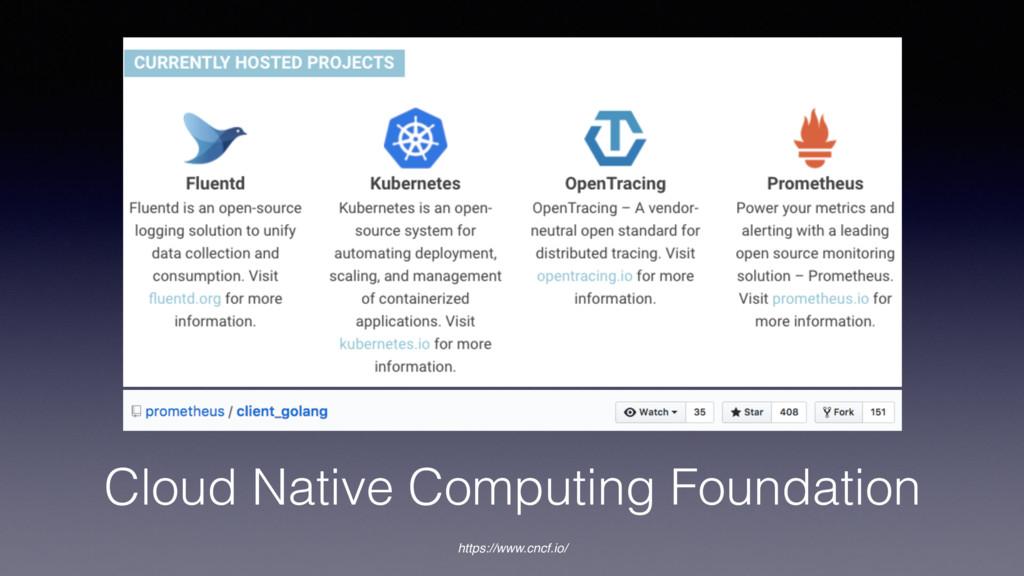 Cloud Native Computing Foundation https://www.c...