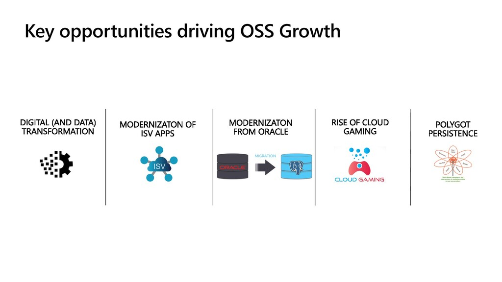 Key opportunities driving OSS Growth