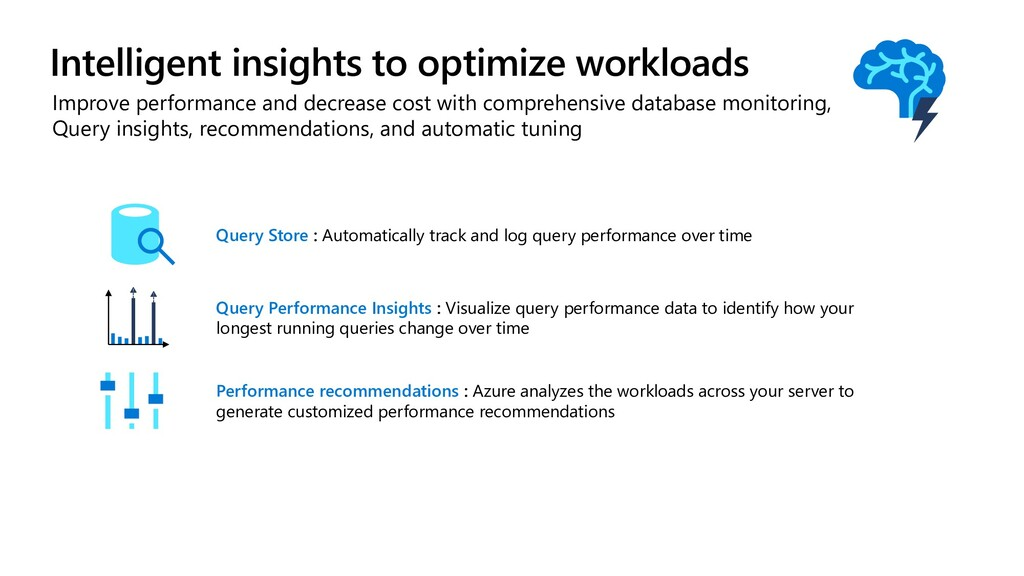 Improve performance and decrease cost with comp...