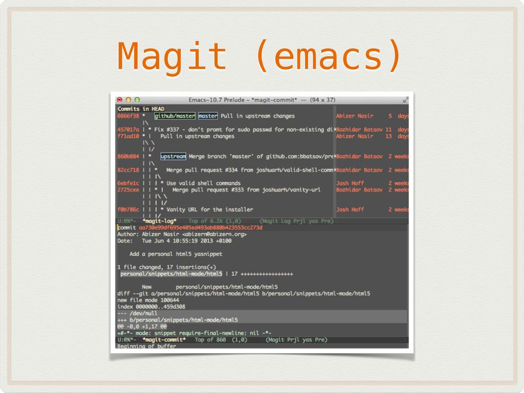 Magit (emacs)