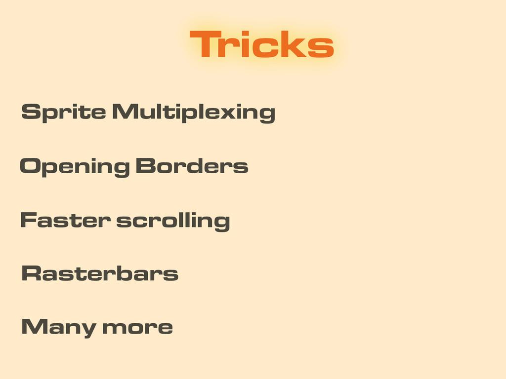 Tricks Opening Borders Rasterbars Sprite Multip...