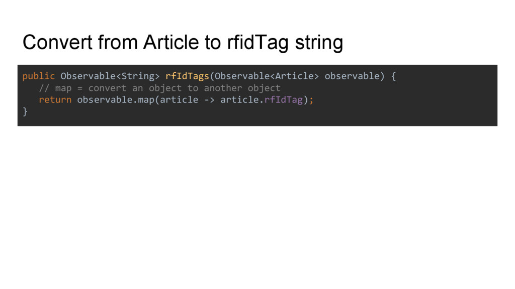 Convert from Article to rfidTag string public O...