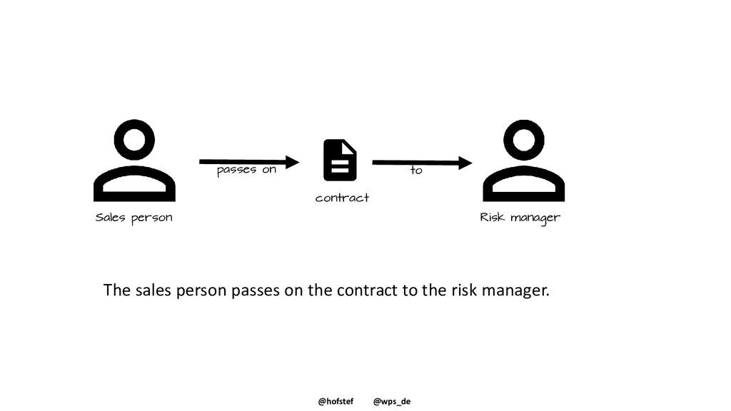 @hofstef @wps_de The sales person passes on the...