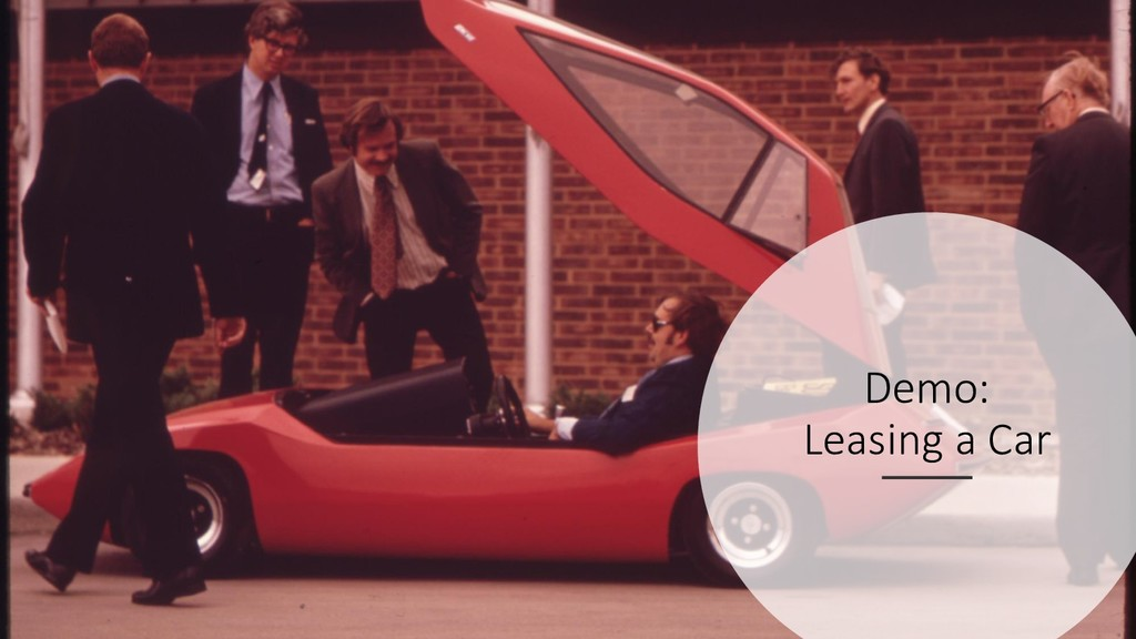 @hofstef @wps_de Demo: Leasing a Car