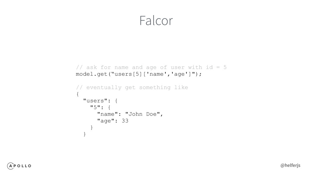 Falcor // ask for name and age of user with id ...