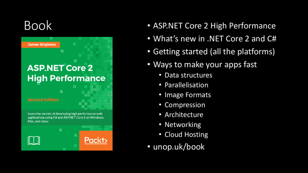 Book • ASP.NET Core 2 High Performance • What's...