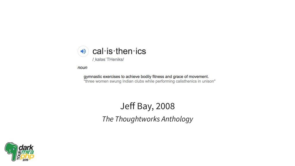 Jeff Bay, 2008 The Thoughtworks Anthology