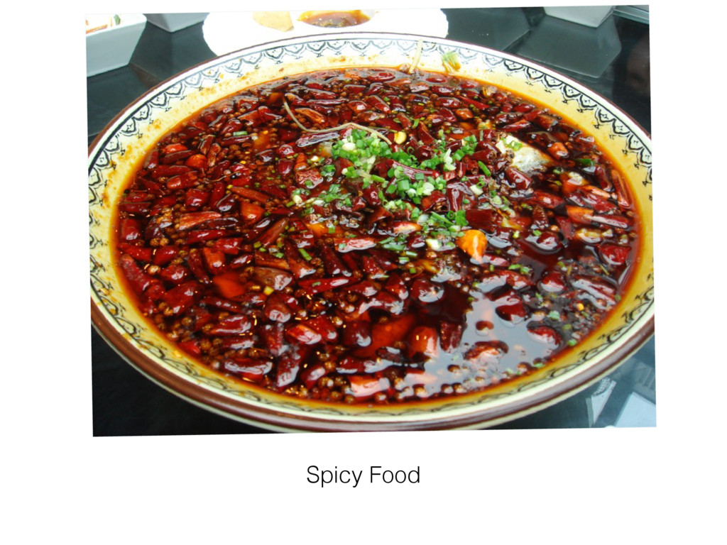 Spicy Food