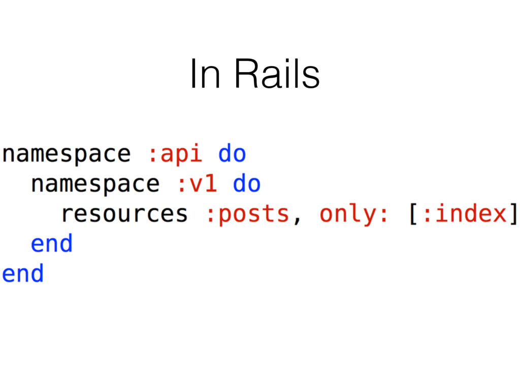 In Rails