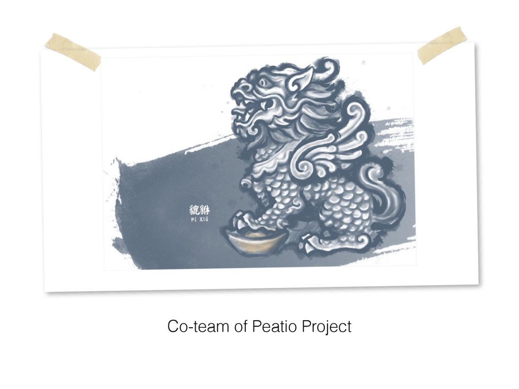Co-team of Peatio Project