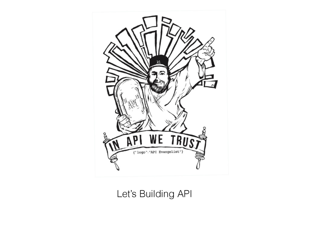 Let's Building API