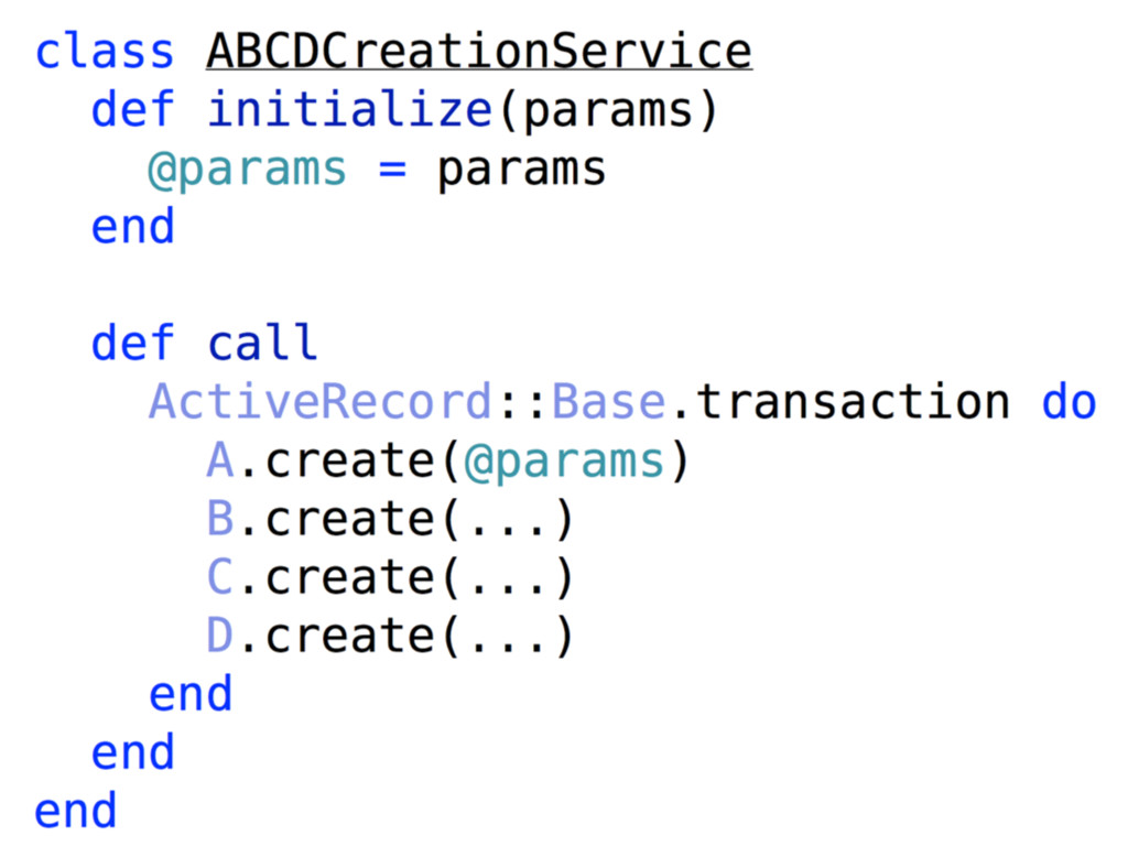 Jan's solution — Service