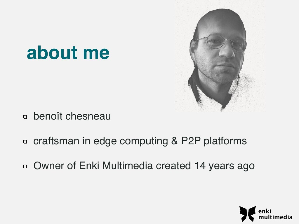 benoît chesnea u  craftsman in edge computing &...