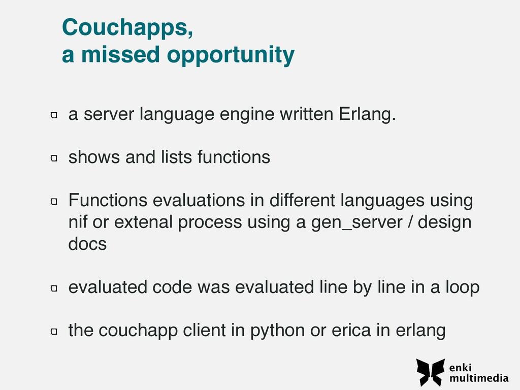 a server language engine written Erlang.    sho...
