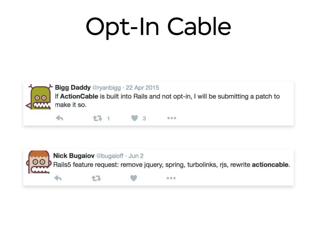 Opt-In Cable
