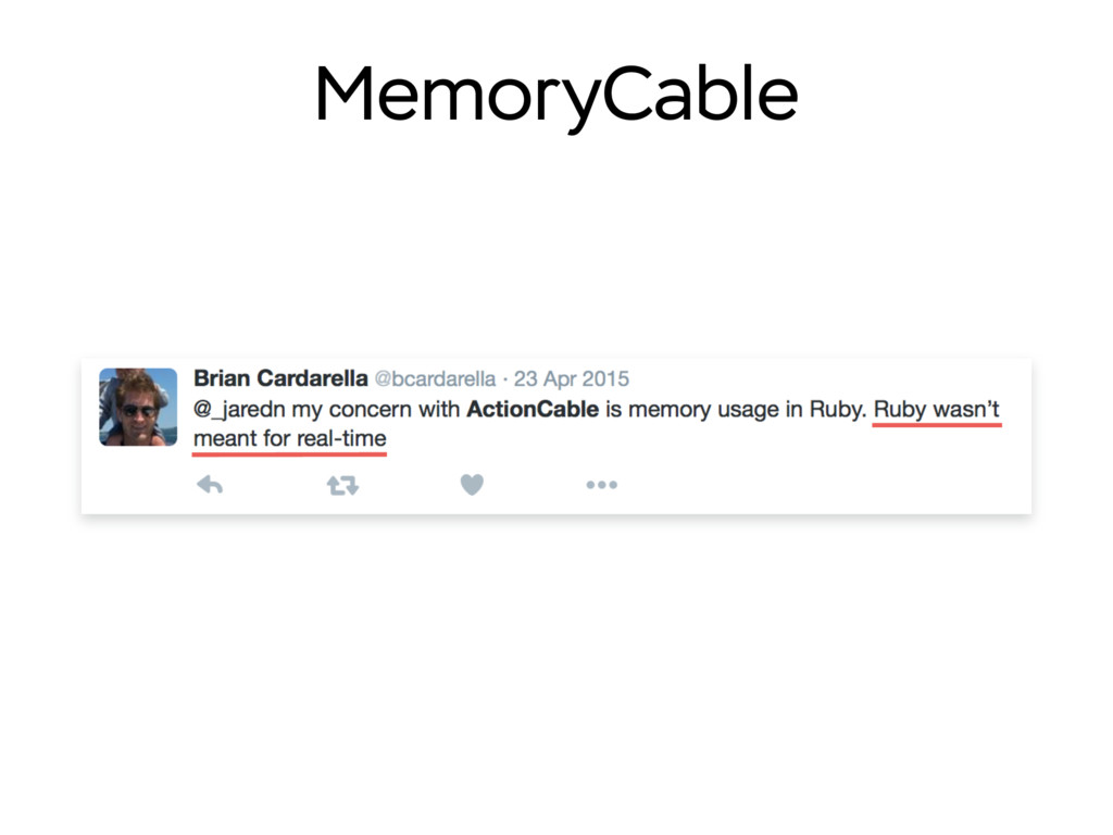 MemoryCable