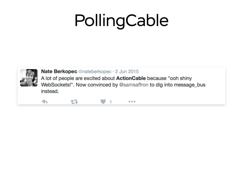 PollingCable