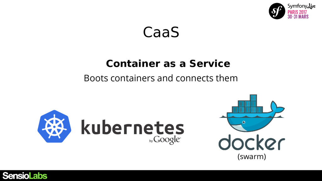 CaaS Container as a Service Boots containers an...