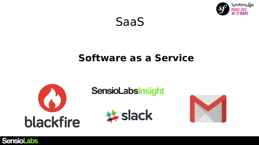 SaaS Software as a Service